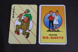 Playing Cards / Carte A Jouer / 1 Dos De Cartes Avec Publicité / Joker - The World Joker .- Cllection Bob Et Bobette - Cartes à Jouer