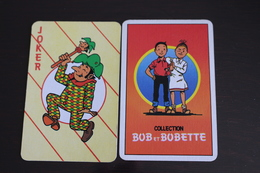 Playing Cards / Carte A Jouer / 1 Dos De Cartes Avec Publicité / Joker - The World Joker .- Collection Bob Et Bobette - Cartes à Jouer