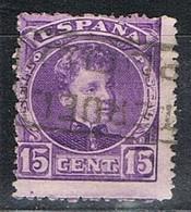 Sello 15 Cts Alfonso XIII, Carteria PLOU (Teruel), Edifil Num 246 º - Used Stamps
