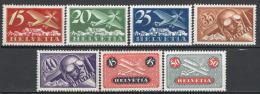 Svizzera 1923 Unif. A3/9 */MH VF/F - Unused Stamps