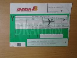 DC33.15 Iberia -Boarding Pass - Transportation Tickets