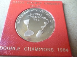 ESSEX COUNTY CRICKET CLUB, DOUBLE CHAMPIONS 1984 - United Kingdom