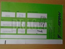 DC33.16 MALÉV  - Boarding Pass MA1560  -Budapest - Transportation Tickets
