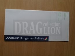 DC33.17 MALÉV  Hungarian Airlines - Ticket Holder - Transportation Tickets