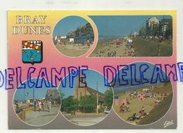 France. Le Nord. Bray Dunes. Carte Mosaïque, écusson. ESTEL - Bray-Dunes