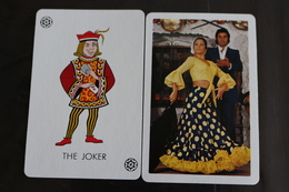 Playing Cards / Carte A Jouer / 1 Dos De Cartes Avec Publicité / Joker - The World Joker .- - Playing Cards