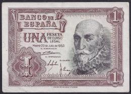 ESPAÑA 1953 - BILLETE SIN CIRCULAR - 1-2 Pesetas