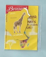 Magnet Collection Afrique  Brossard La Girafe - Animals & Fauna