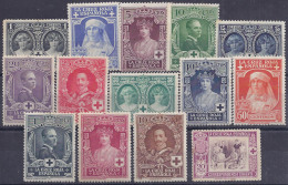 ESPAÑA 1926 - Edifil #325/38* - 1889-1931 Kingdom: Alphonse XIII