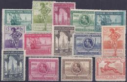ESPAÑA 1929 - Edifil #434/47* - 1889-1931 Kingdom: Alphonse XIII