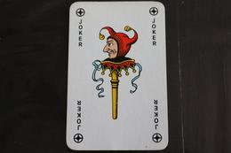 Playing Cards / Carte A Jouer / 1 Dos De Cartes Avec Publicité / Joker - The World Joker ..- - Cartes à Jouer