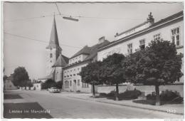 AK - NÖ - Laasee Im Marchfeld  - Ortsansicht Mit Alter Raifeisenkasse - Gänserndorf