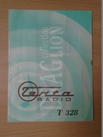 DC33.23  RADIO TERTA  T328 - Booklet - Warranty Card  Keravill Nagykőrös 1960 - Invoices & Commercial Documents