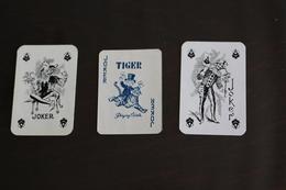 Playing Cards / Carte A Jouer / 1 Dos De Cartes Avec Publicité / Joker - The World Joker .- 3 - Mini Cartes - Cartes à Jouer