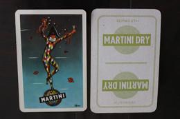 Playing Cards / Carte A Jouer / 1 Dos De Cartes Avec Publicité / Joker - The World Joker .- Martini  Dry - Cartes à Jouer