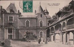 4140A   MAULMONT  1911     ECRITE - Other Municipalities