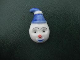 Fève Clown N° 4 Série Tête De Clown 2002 - Fèves - Rare T 4 Rare - Olds