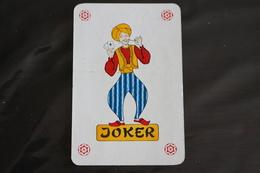 Playing Cards / Carte A Jouer / 1 Dos De Cartes Avec Publicité / Joker - The World Joker .- - Cartes à Jouer
