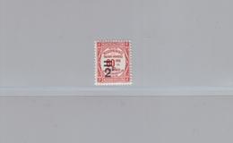 FRANCE - 1926 - TAXE - YT N° 54 - 2 F. S. 60 C.rouge - NEUF* - Taxes