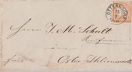 DR Brief EF Minr.18 K2 Otterndorf 15.7. Fleck Am T Von Post - Briefe U. Dokumente