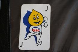 Playing Cards / Carte A Jouer / 1 Dos De Cartes Avec Publicité / Joker - The World Joker .- Esso - Cartes à Jouer