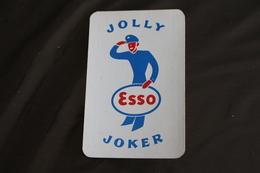 Playing Cards / Carte A Jouer / 1 Dos De Cartes Avec Publicité / Joker - The World Joker .-Jolly  Esso Joker - Cartes à Jouer