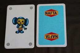 Playing Cards / Carte A Jouer / 1 Dos De Cartes Avec Publicité / Joker - The World Joker .-Jolly  Esso Joker - Other