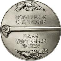 France, Médaille, Première Guerre Mondiale, Batailles De Champagne, FDC - France
