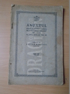 DC35.4  Anuarul Scoalei Iosif Vulcan -Arad  1924-25  Victor Babescu - Libros, Revistas, Cómics