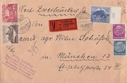 DR Wertbrief Mif Minr.514,524,737 SR, Zdr. Minr.W144 Watenstedt (Kr. Helmstedt) 8.11.39 - Briefe U. Dokumente