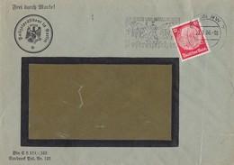 DR Brief EF Minr.519 Mit POL-Lochung Berlin 23.1.36 - Deutschland