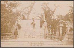 The Sumiyoshi Sorihashi, Osaka, C.1910s - RP Postcard - Osaka