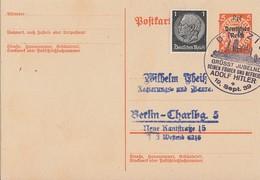 DR Ganzsache Minr.P283 SST Danzig - Briefe U. Dokumente