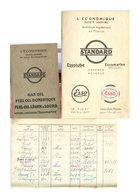 Carnet Livraison Fuel Bateau    1939 - Bateaux