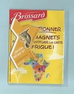 Magnet Collection Afrique  Brossard Le Singe Vervet - Animals & Fauna