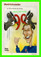 MAGAZINE 7 JOURS - CARICATURE DE MARIO MALOUIN EN 1999 - WAYNE GRETZKY, JOUEUR DE HOCKEY, - Newspapers