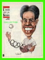 SPORT BASEBALL - MAGAZINE 7 JOURS - CARICATURE DE SERGE CHAPLEAU, 1993 - DENNIS MARTINEZ, LANCEUR EXPOS DE MONTRÉAL - Andere