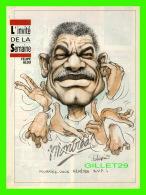 SPORT BASEBALL MAGAZINE 7 JOURS - CARICATURE DE SERGE CHAPLEAU, 1992 - FELIPE ALOU - INSTRUCTEUR DES EXPOS DE MONTRÉAL - - Andere