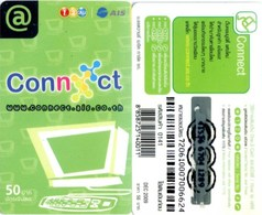 Mobilecard Thailand - 12Call/AIS - Werbung - Connect (4) - Thaïland
