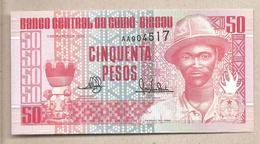 Guinea Bissau - Banconota Non Circolata FdS Da 50 Pesos P-10 - 1990 - Guinea-Bissau