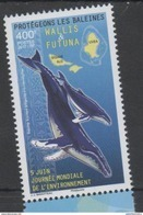 WALLIS ET FUTUNA, 2017, MNH, MARINE LIFE, WHALES, PROTECT THE WHALES,1v - Whales