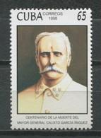 Cuba 1998 / Calixto Garcia MNH / Cu9102  C3 - Cuba