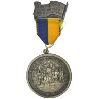 Allemagne, Médaille, Wandertag TSV Heimsheim, 1980, SUP, Silvered Bronze - Allemagne