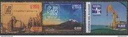 ECUADOR ,2016, MNH, GEOLOGY, SAINT ELENA CUNA OIL, DRILLING, MOUNTAINS,3v - Geology