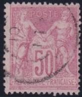 France   .    Yvert  .       104   .      O   .      Oblitéré - 1898-1900 Sage (Type III)