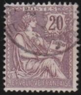France   .    Yvert  .       126       .      O   .      Oblitéré - France