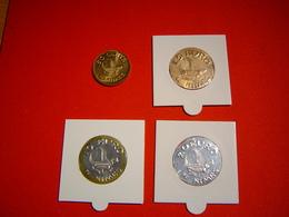 LOT PIECES 50 CENTS, 1.5, 10 Et 20 EURO TEMPORAIRE VILLE DE NIMES - Euros Of The Cities