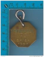 2 Belles Médailles 1962 Et 1966de Disraelie Canada P. Quebec - Taxe Pour Chien - Dog Tax - Tokens & Medals