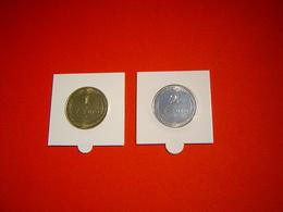 LOT PIECES 1 ET 2 EURO TEMPORAIRE VILLE D'OBERNAI - Euros Of The Cities