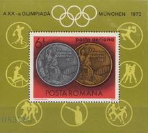 Romania MNH SS - Summer 1972: Munich